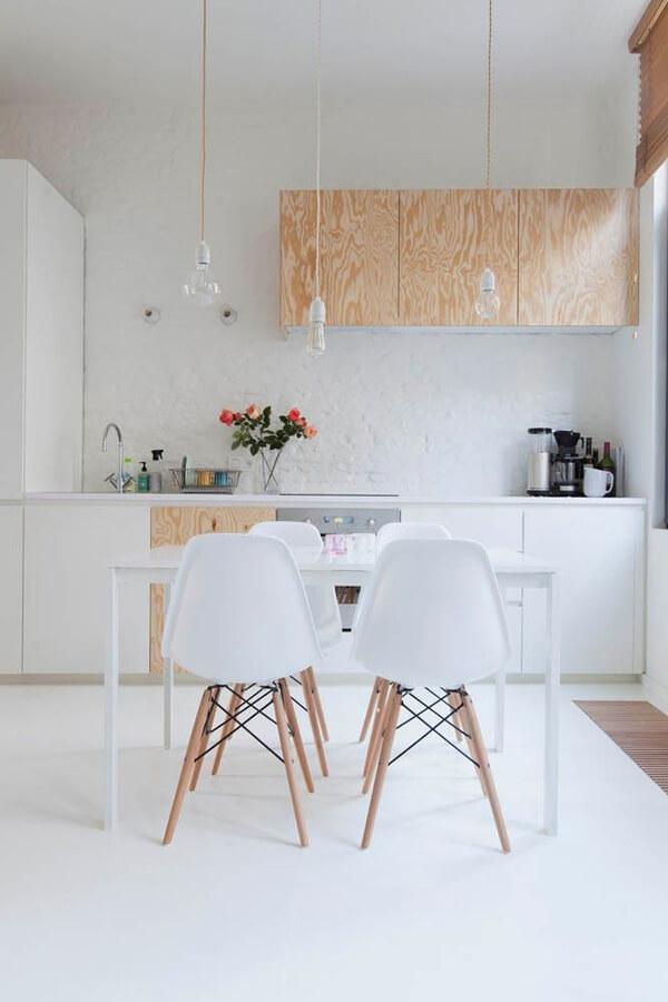 cozinha moderna sustentável
