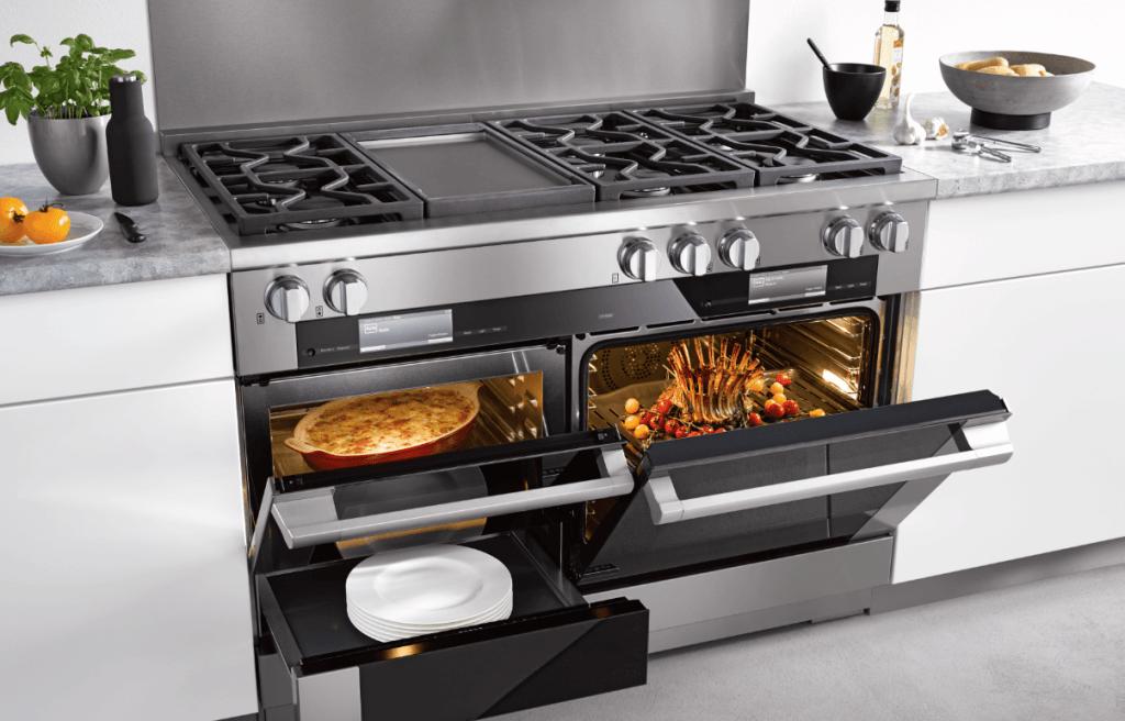cozinhas modernas fogão