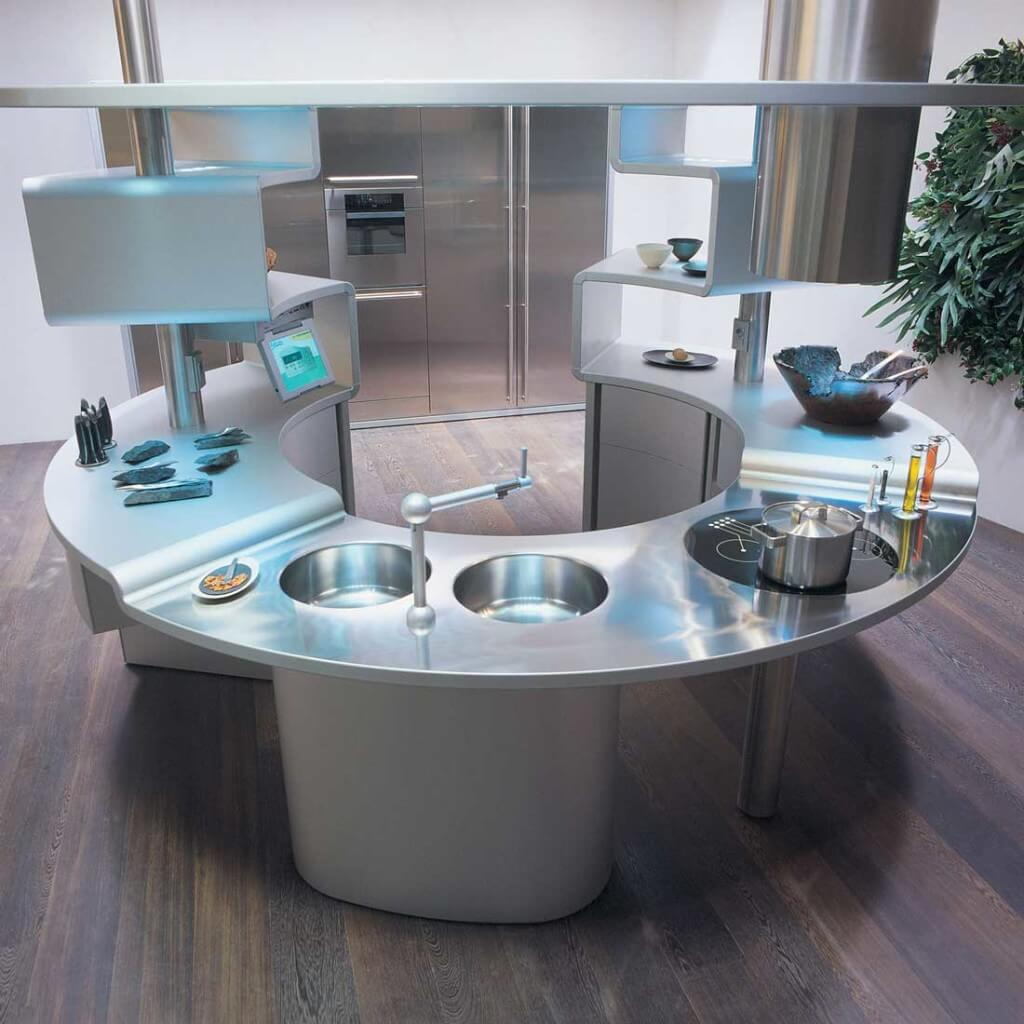 cozinha moderna pequena