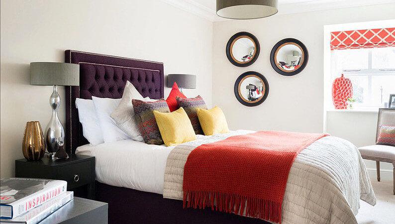 quartos de casal decorado