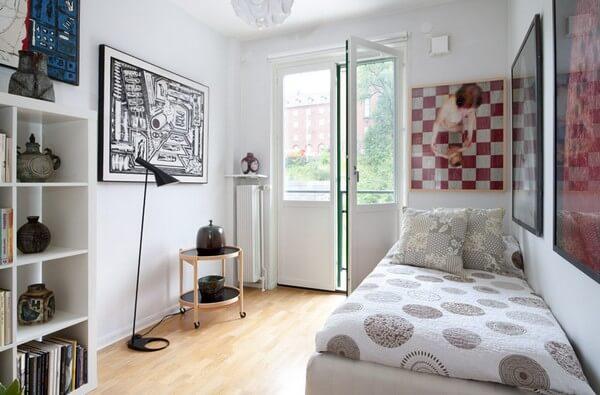 quarto decorado pequeno para menina