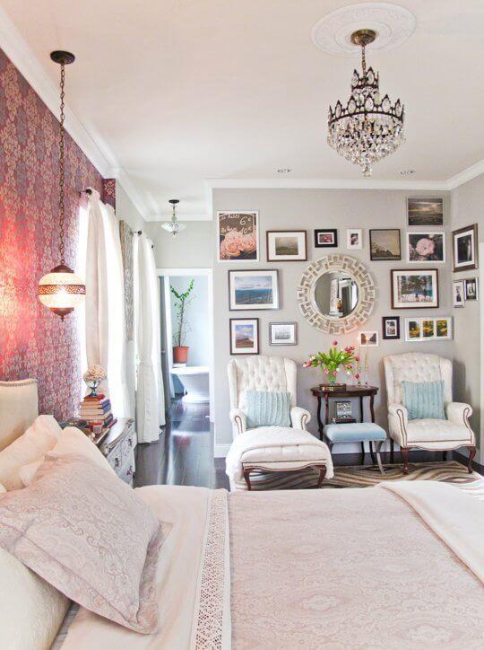 quarto feminino decoração