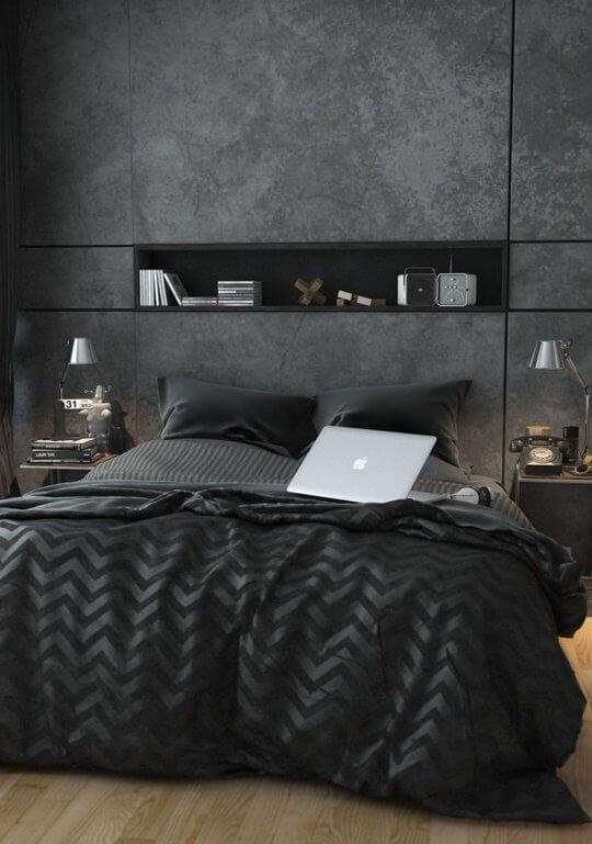 quartos decorados masculinos chiques