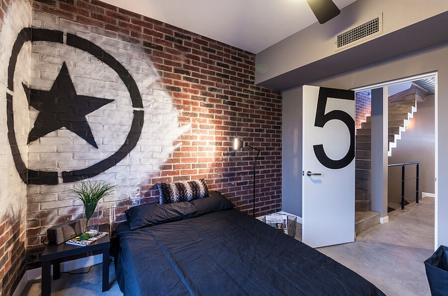 quarto decorado masculino