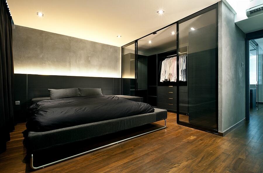 quarto decorado minimalista