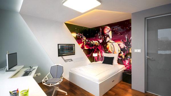 quartos decorados para jovens meninos