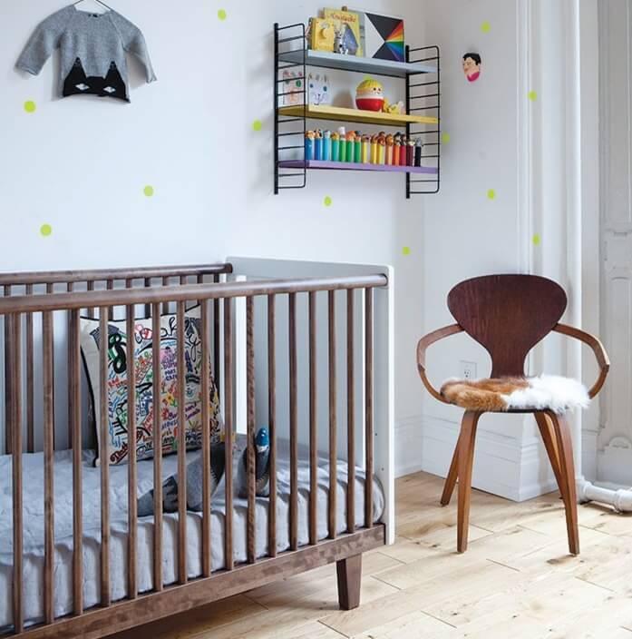 quartos de bebês decorados