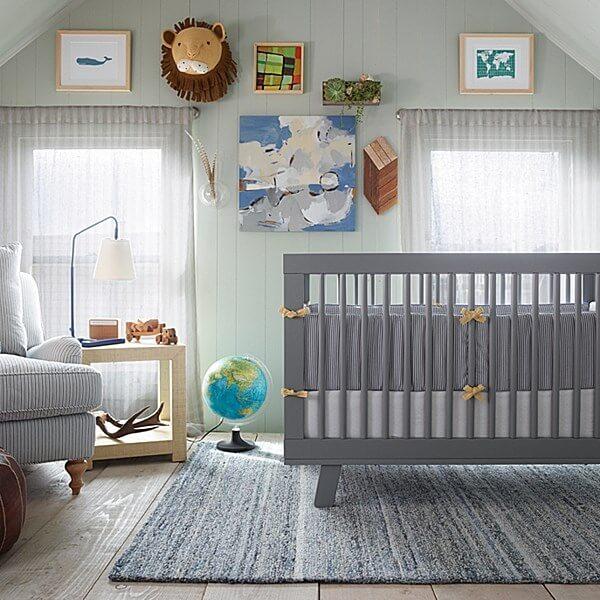 quarto de bebe decorado neutro