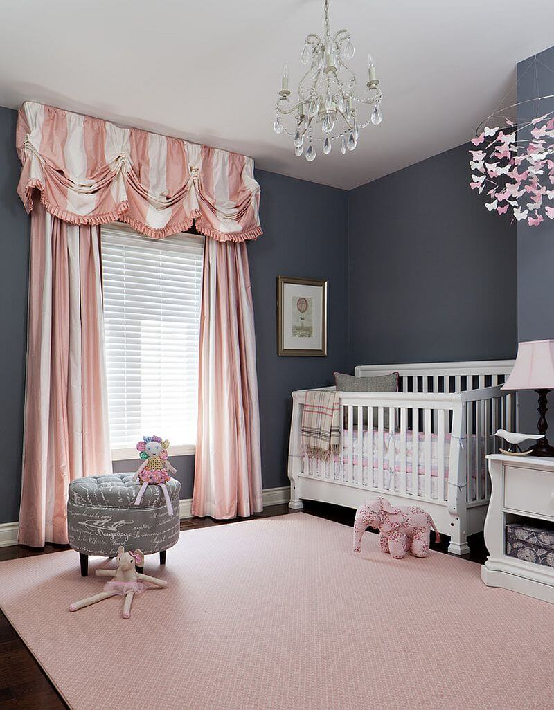 Quarto Bebe Rosa Cinza Pictures to pin on Pinterest ~ Quarto Rosa Para Bebe