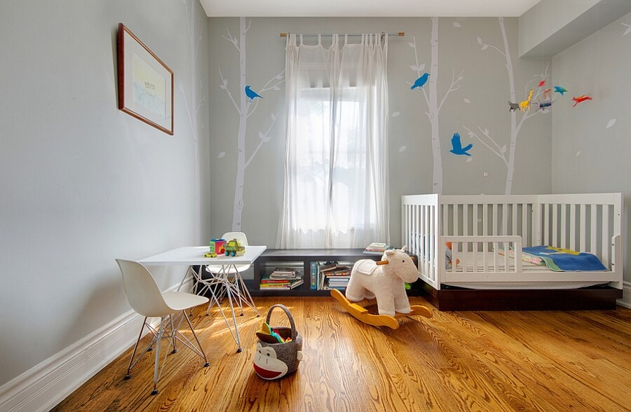 quarto decorado de bebe tematico
