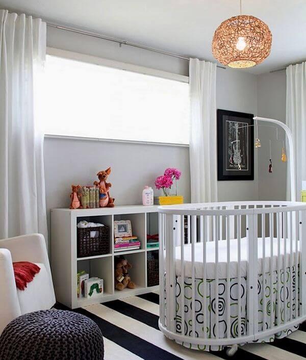 quarto decorado para bebe