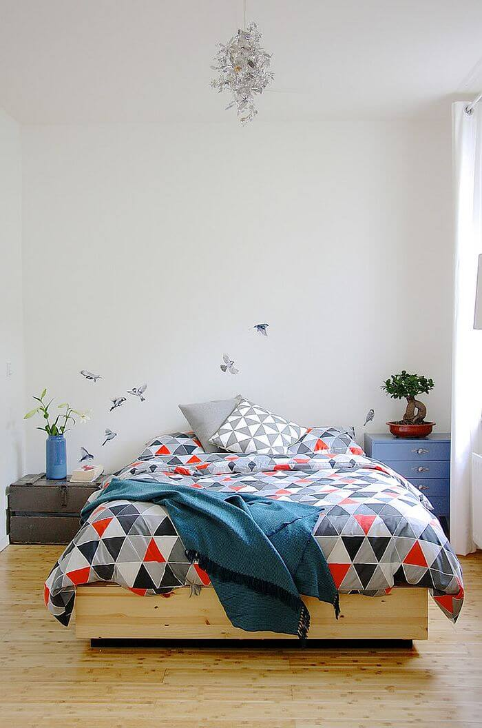 quartos pequenos decorados para jovens