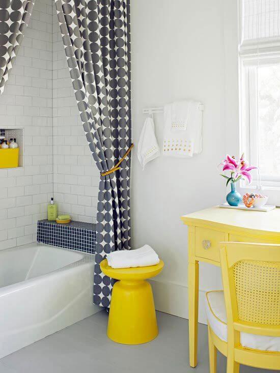 como decorar banheiro pequneno