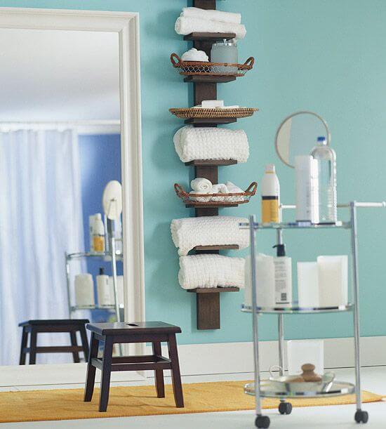 decorações para banheiros