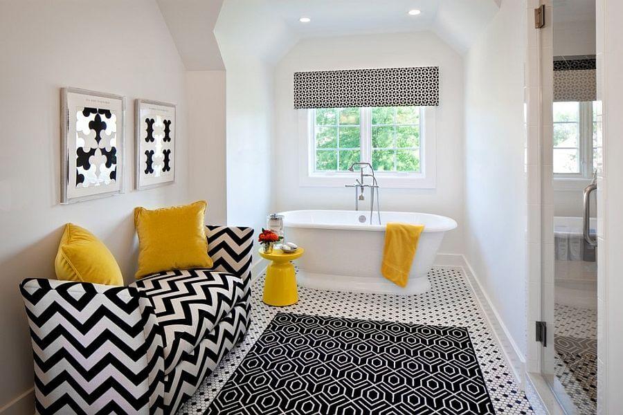 banheiros decorados com tapete