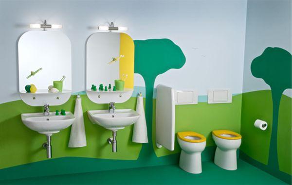 banheiros infantils decorados
