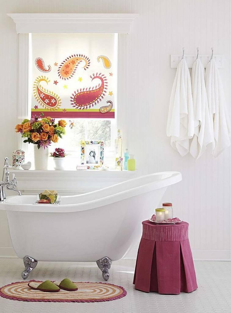 banheiro com decoração