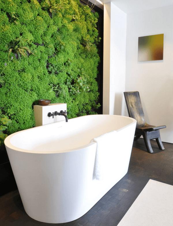 jardim vertical banheiro