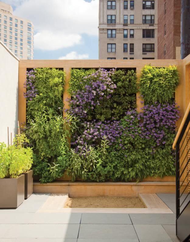 jardim vertical cobertura