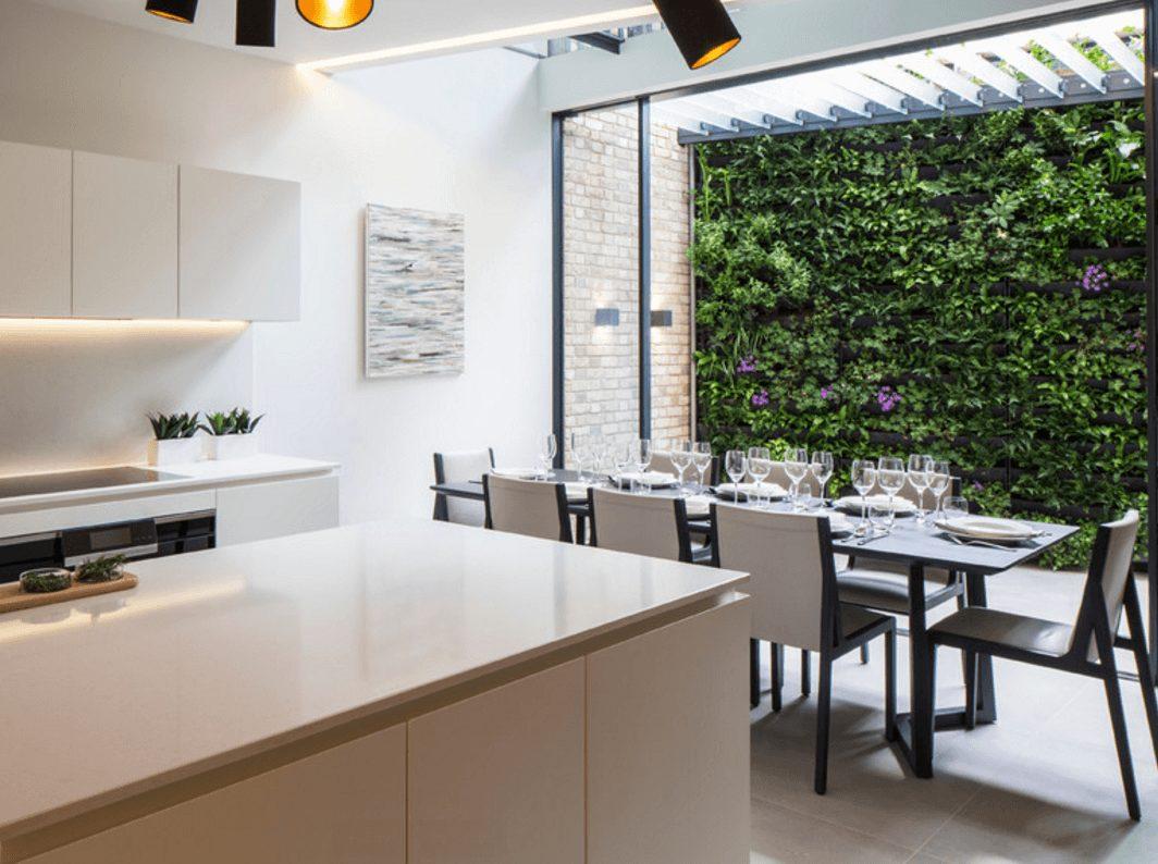 jardim vertical cozinha