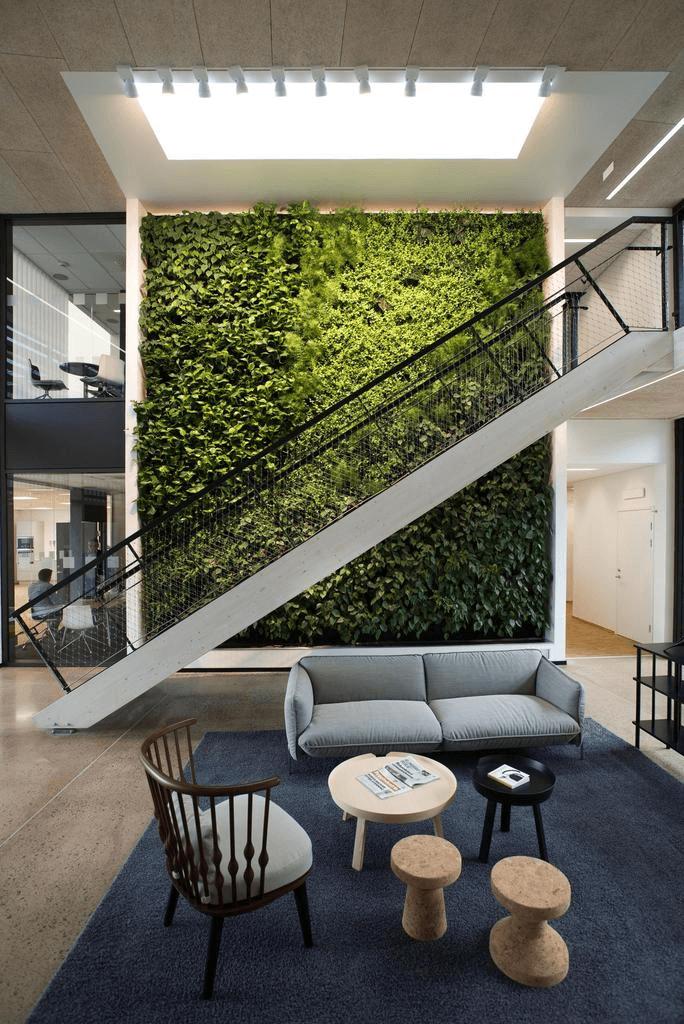 jardim vertical escada