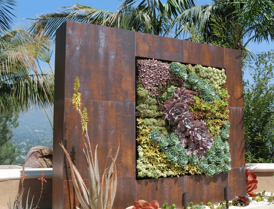 jardim vertical painel