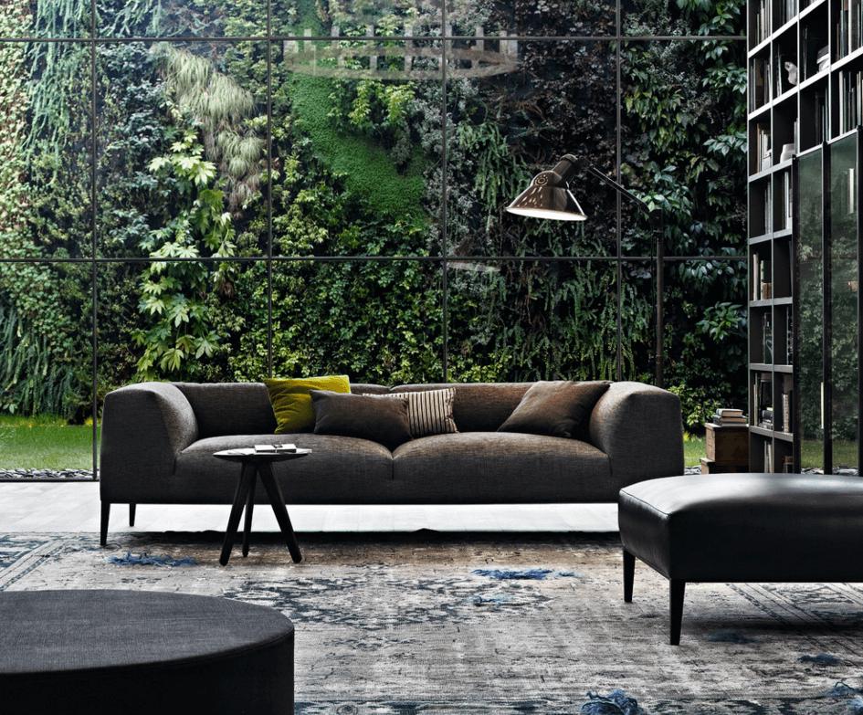 jardim vertical sala de estar