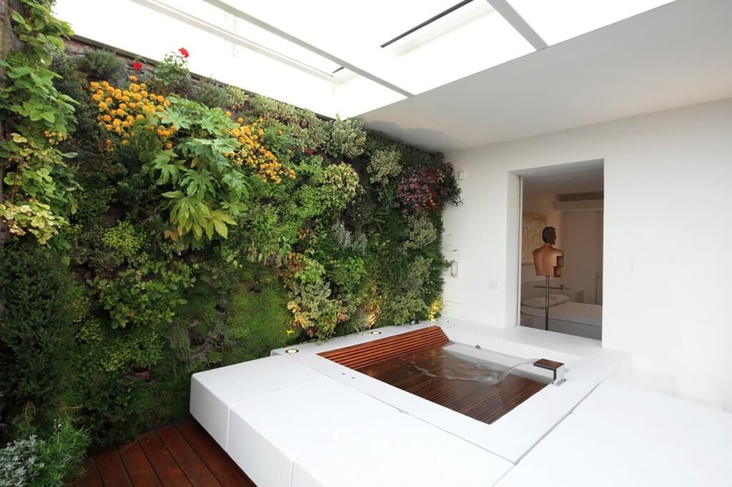 jardim vertical spa