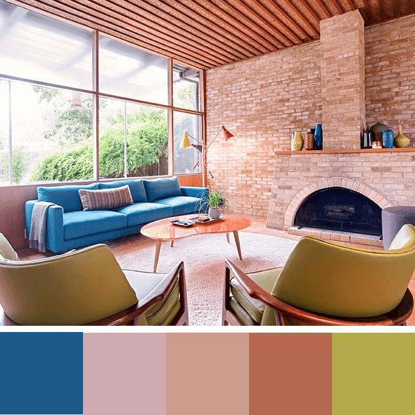 Paletas de cores para sala arquidicas for Pintado de salas pequenas