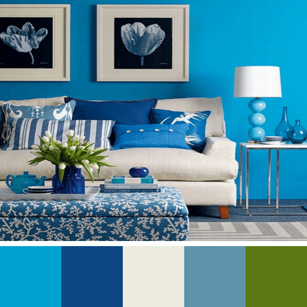 Bedroom Decor Light Blue Walls