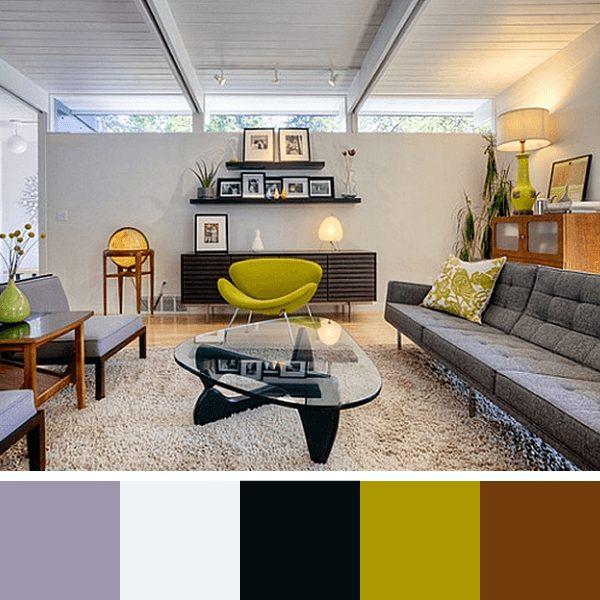 cores para pintar a sala