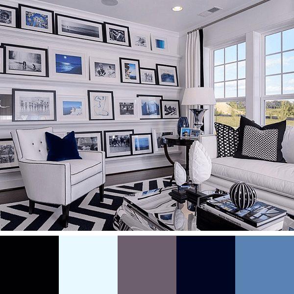 cores para salas