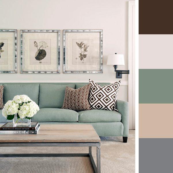 escolher cores para sala