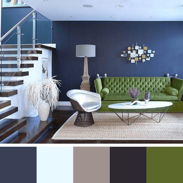 ideias de cores para sala