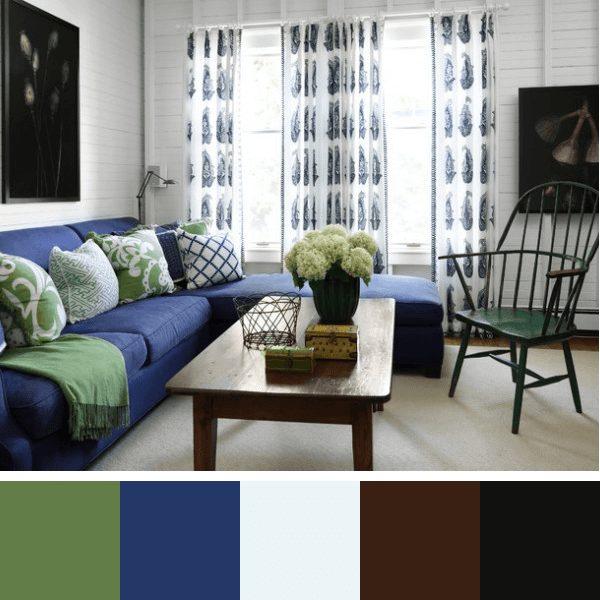 revestimentos e cores para sala