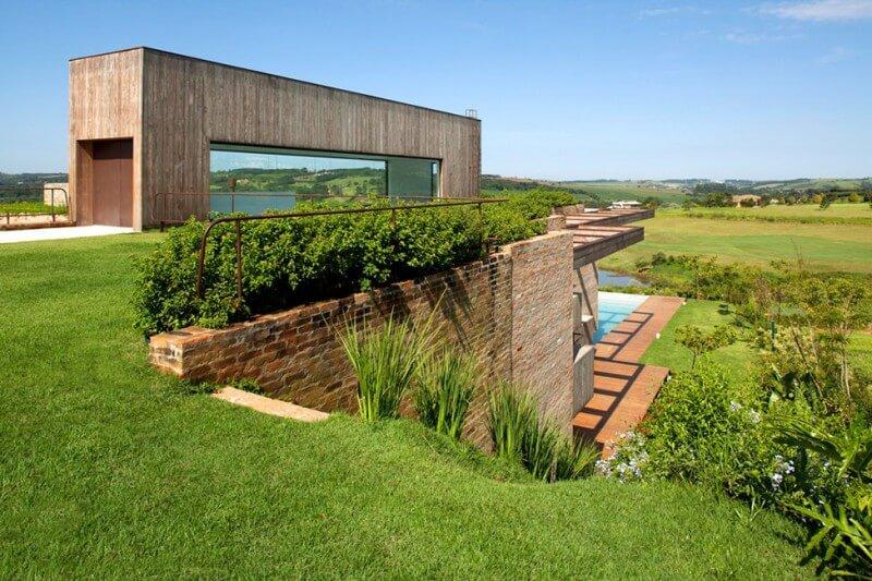 casas de campo irresist 237 veis arquidicas steep hillside house plans built into hillside house plans