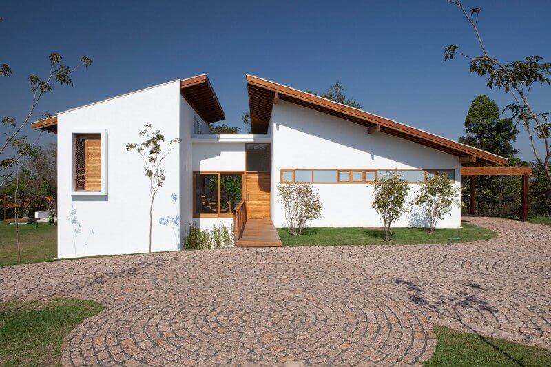 casa de cmapo simples