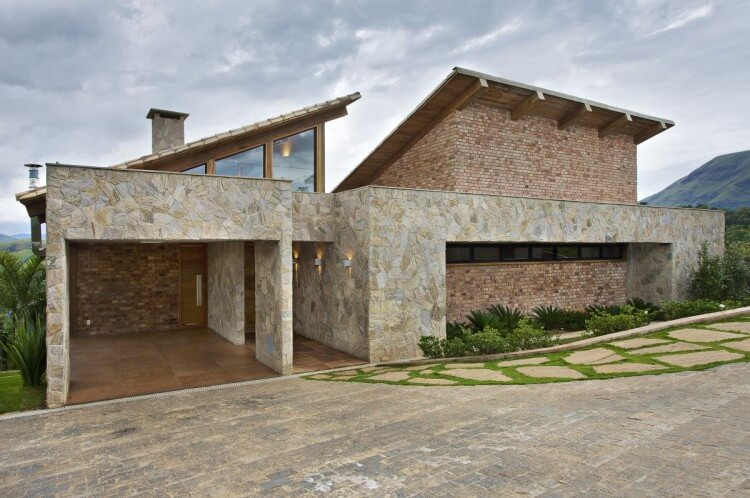 Casas de campo irresist veis arquidicas for Fachadas de casas de campo