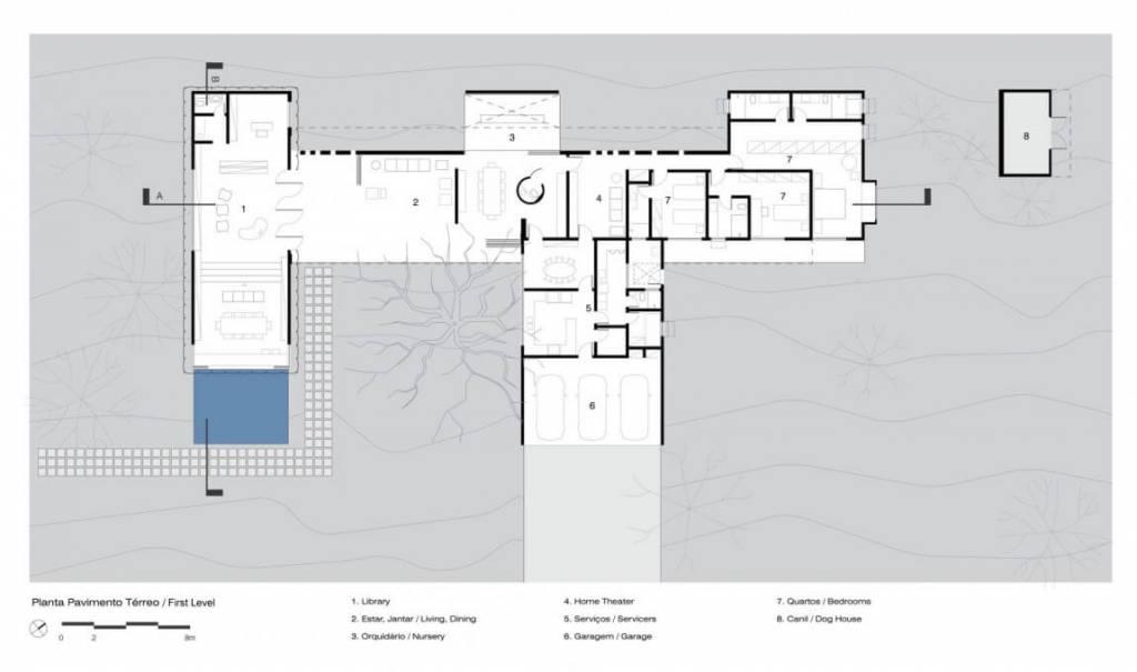 Plantas de casas modernas arquidicas for Casa moderna de una planta