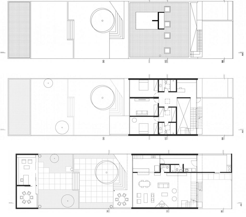 plantas de casas modernas dois quartos