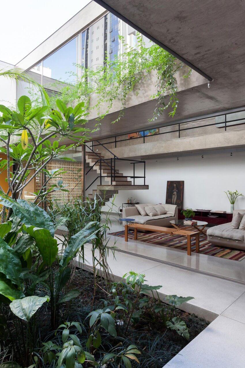 Plantas de casas modernas arquidicas for Pavimentos de jardin