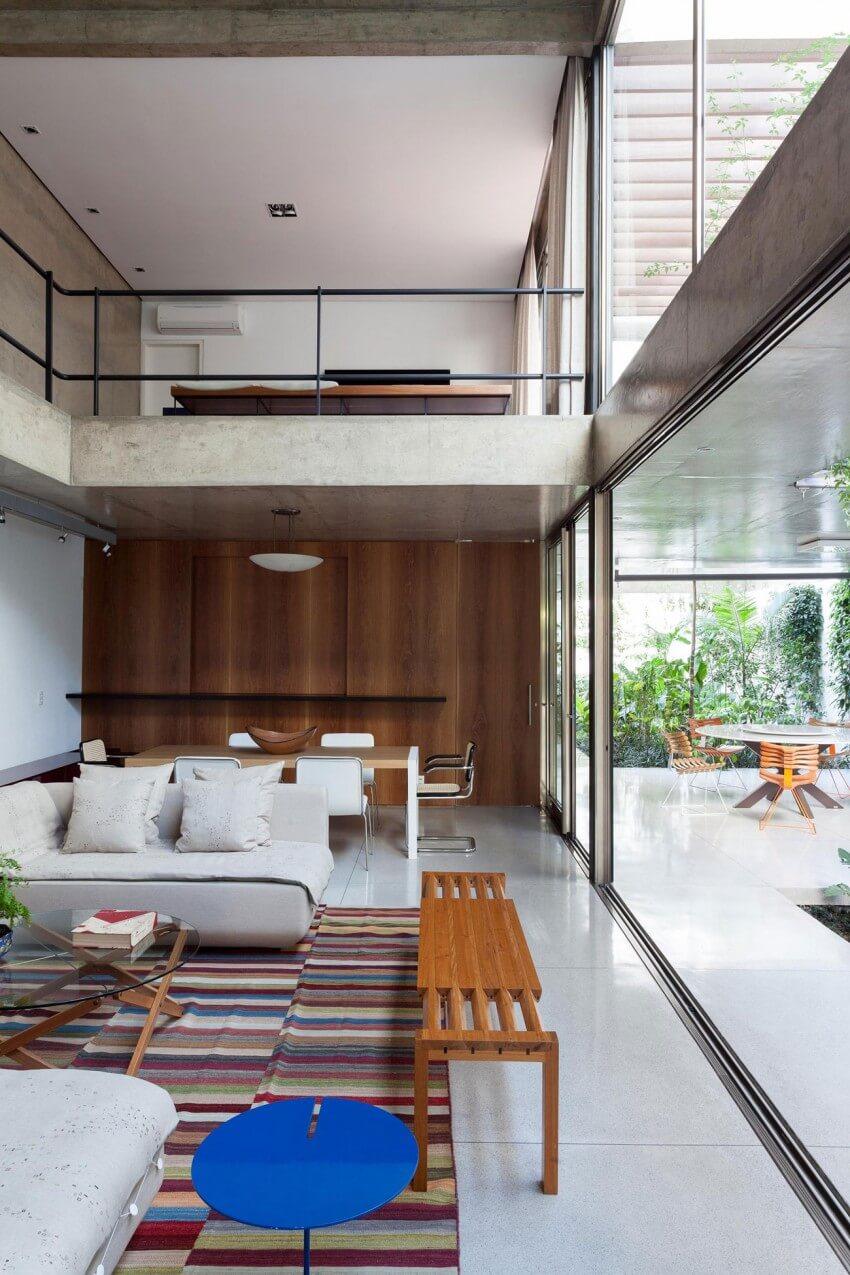 casas modernas três quartos
