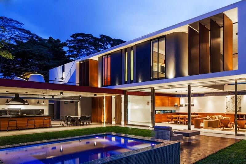 Plantas de casas modernas arquidicas for Casas grandes modernas
