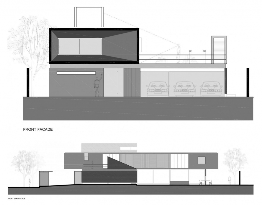 Plantas de casas modernas arquidicas for Casa moderna l