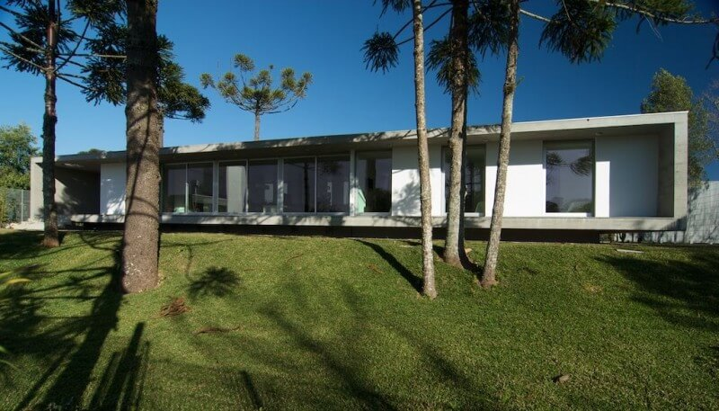 planta de casa moderna simples