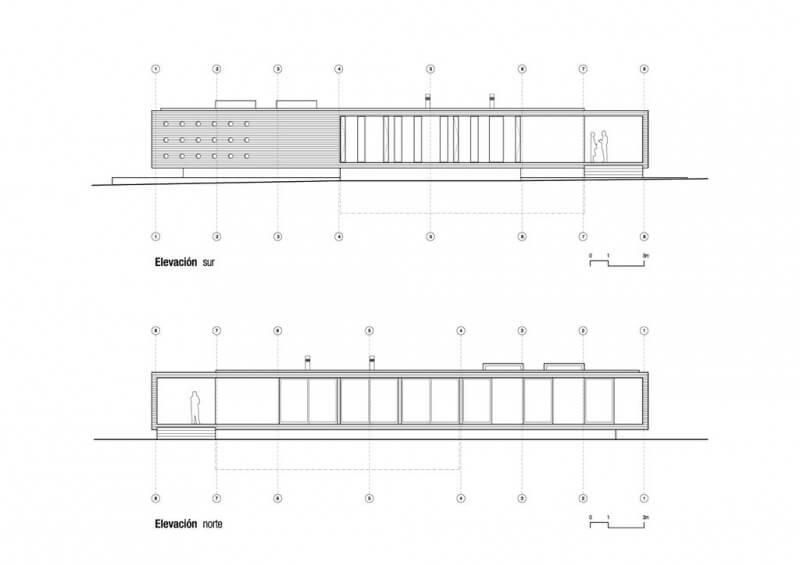 Casa Bertolini Studio Paralelo Elevações