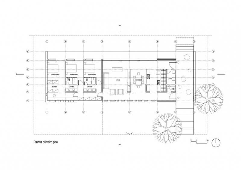 plantas de casas modernas simples