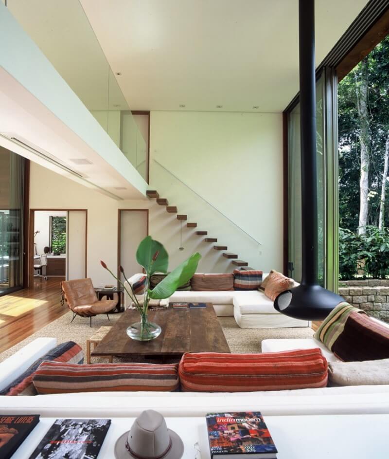 Plantas de casas modernas arquidicas Interiores de casas modernas 2015