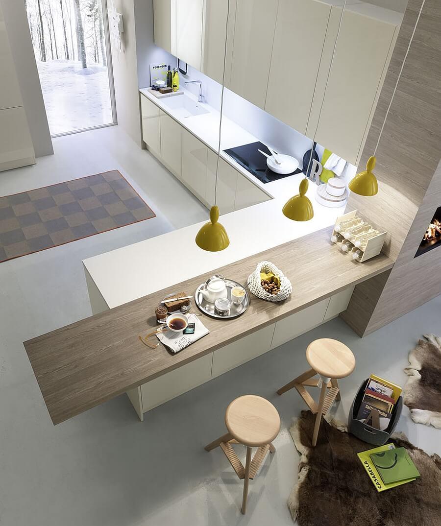 cozinha americana pequena ideias fotos e dicas importantes arquidicas. Black Bedroom Furniture Sets. Home Design Ideas