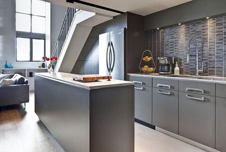 cozinhas americanas com sala